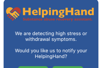 HelpingHand: Substance abuse recovery assistant.