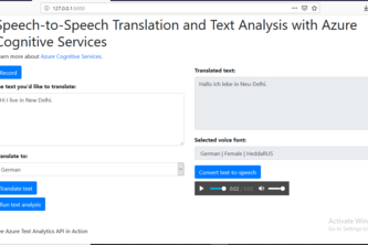 Speech to Speech Translation Web App
