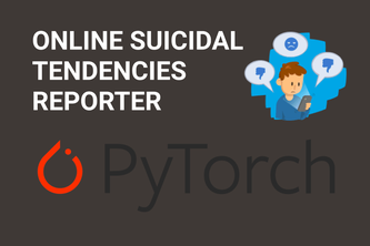 Online suicidal tendencies reporter