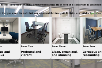 Booking a room for noiseless interviews
