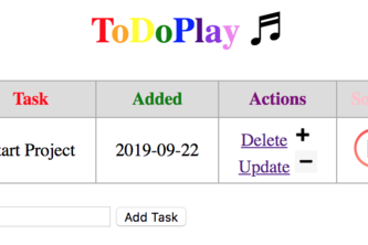 ToDoPlay