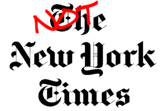 Not New York Times