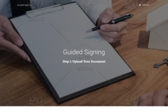 Guided Signing