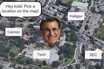 Tufts AR Map