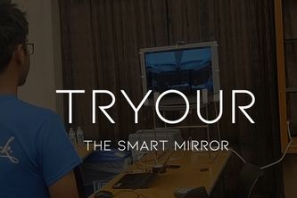 TRYOUR - 'A Mirror Which Suggests You Styles'