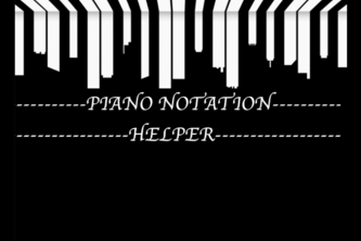 Piano Notation Helper