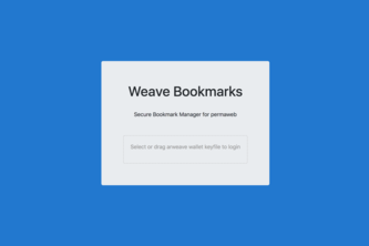 Weave Bookmarks