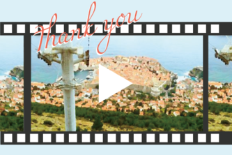 The videos of traveling foreign countries