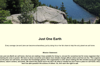 Just One Earth