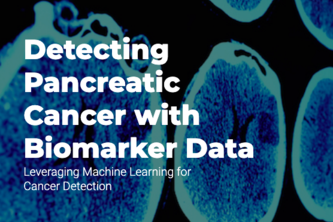 Machine Learning to Detect Pancreatic Cancer with Biomarkers