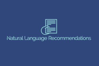 NaturalLanguageRecommendations
