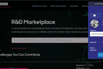 Decentraminds Data Wallet & Marketplace
