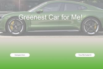 Greenest Car for Me