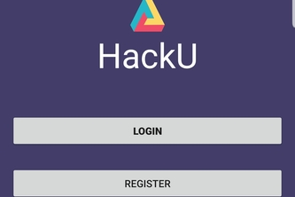 HackU - The intelligent app for student hackers