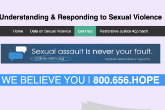 Understanding & Responding to Sexual Violence