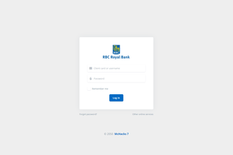 RBC 2050 - Simplified Online Banking