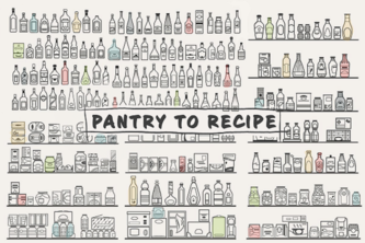 Pantry to Recipe