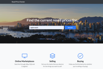 Resell Price Checker