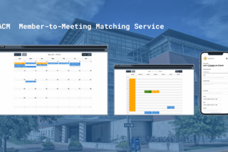 UIUC ACM Member-to-Meeting Matcher Service