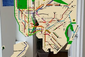 AR MTA Subway Map