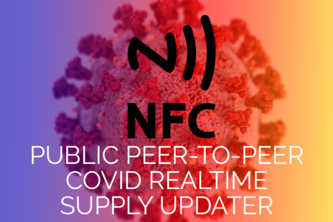 Live peer to peer supply chain with NFC tags