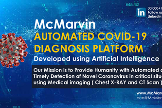 COVID - 19 AI Diagnosis Platform