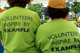 BE A VOLUNTEER FOR THE COMMUNITY.