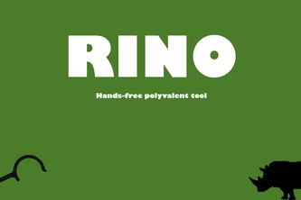 RINO - Hands-free polyvalent tool