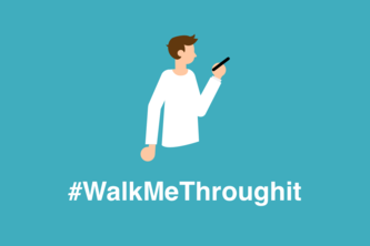 #WalkMeThroughIt - Share basic life skills via video calls