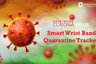Smart Wrist Band for Locking Quarantined People