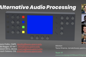 Alternative Audio Processing