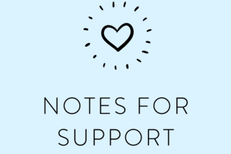 Notes for Support