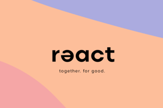 rǝact: Together. For Good