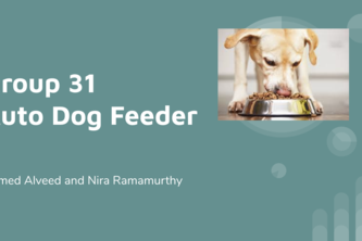 Group 31 - Auto Dog Feeder