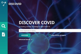 DISCOVID.AI - a search and discovery engine for COVID-19