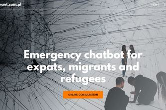 Emergency chatbot for expats, migrants and refugees