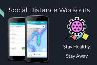 Social Distance Workout - Plan your workouts, Avoid people