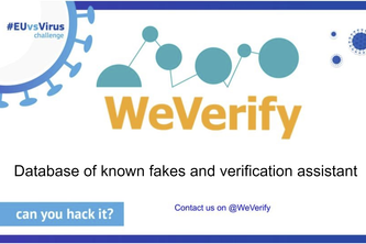 Database of known fakes and verification assistant