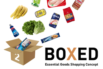 BOXED - Essential Goods Shopping Concept