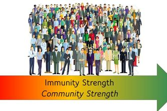 COVID-19 Immunity and Infection Strength Indicators