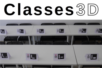 Classes3D - a virtual classroom with video conference!