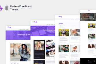Bounty - Modern Free Ghost Theme