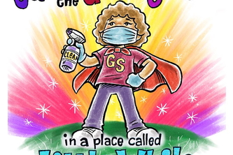 Jamie the Germ Slayer in a place called Little While