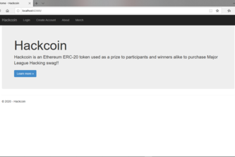 Hackcoin Website