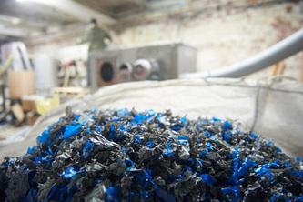 PROCESSING CONTAMINATED WASTE PLASTICS