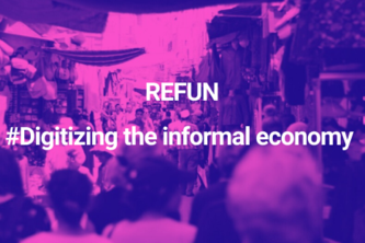 Refund - just in time funding for the informal market