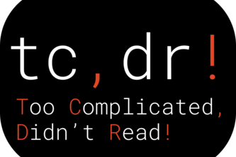 TCDR - Too Complicated Didn't Read