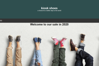 KIOSK-A shoestore website