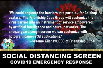 Social Distancing Screen
