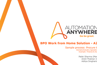 BPO Work from Home Solution - A2019